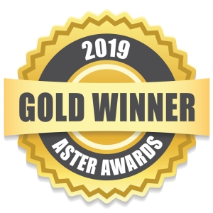 Three-time 2019 Gold Aster Award Winner