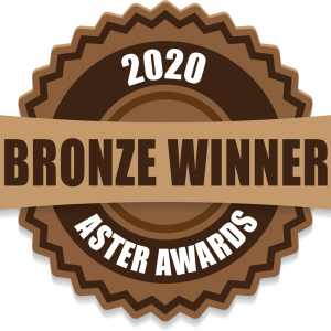 One-time 2020 Bronze Aster Award Winner