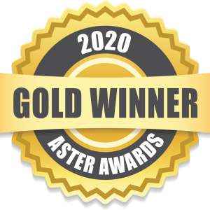 Four-time 2020 Gold Aster Award Winner