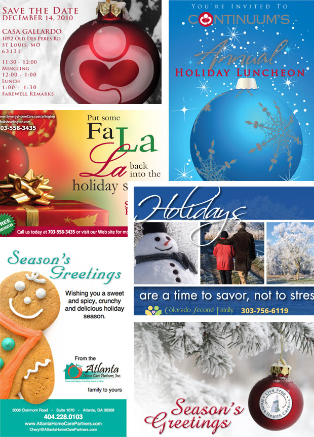 """Say, """"Happy Holidays!"""" to Your Clients with Customized"""