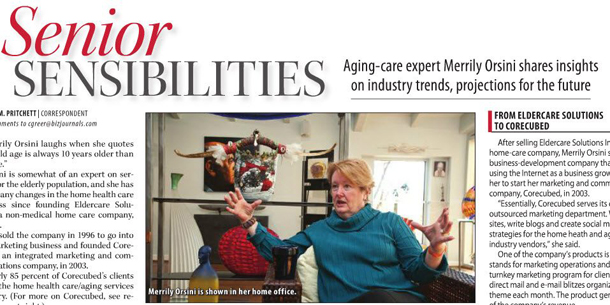 corecubed's Very Own Aging Care Expert Making Waves in Louisville