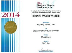 2014 National Mature Media AwardsBronze Winner