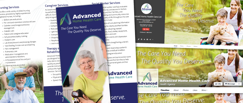 New Home Care Marketing Materials For Advanced Home Health Care