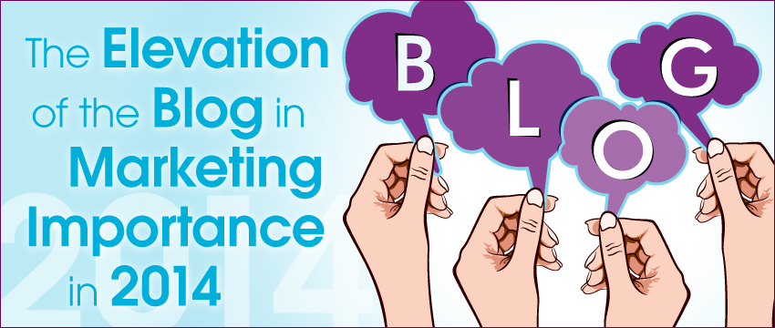 The Elevation of the Blog in Marketing Importance in 2014 photo