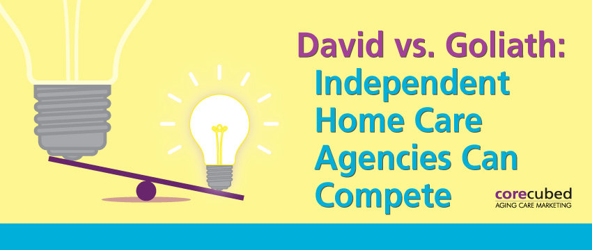 David vs. Goliath: Independent Home Care Agencies Can Compete photo