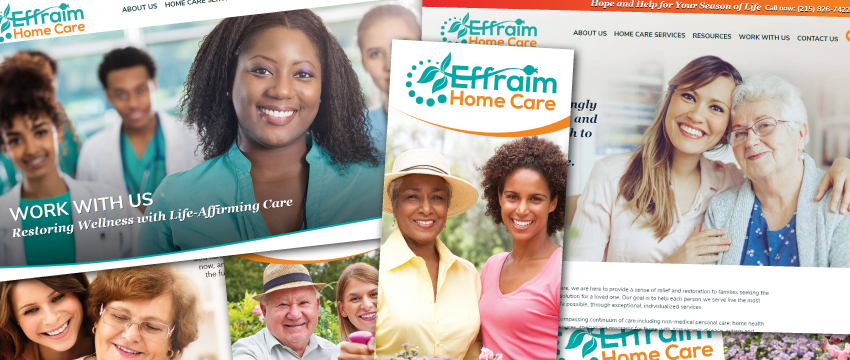 Effraim Home Care portfolio items