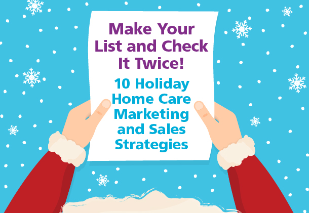 holiday home care marketing - how to market to seniors online