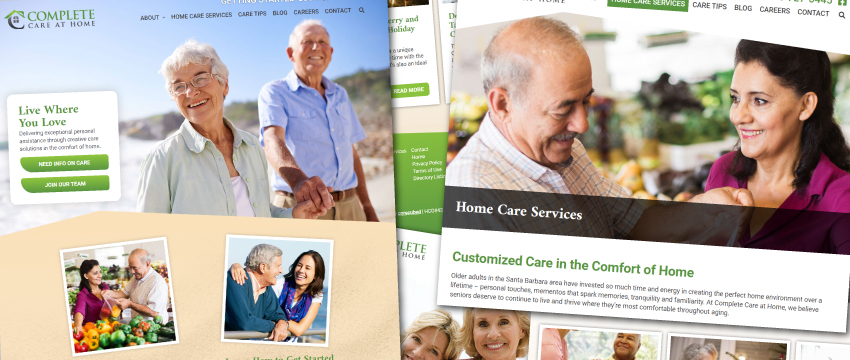 Complete Care at Home's Website