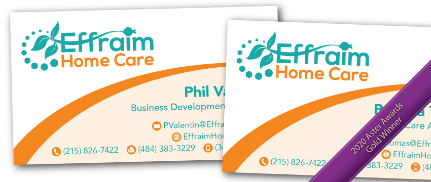 Effraim Home Care stationery