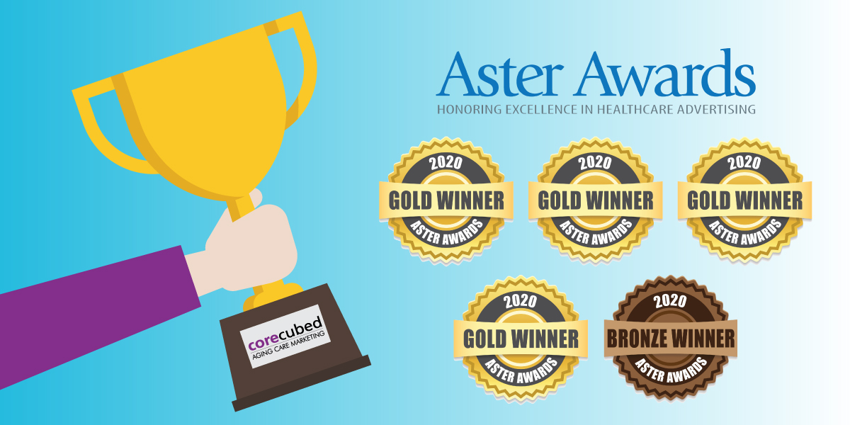 2020 Aster Awards - Award-Winning Partner for marketing and sales